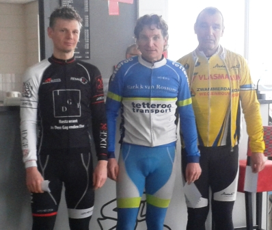 wintercompetitie - podium B