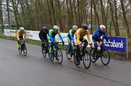 Tweede wedstrijd Rijn en Bollenstreekcompetitie - Lisse