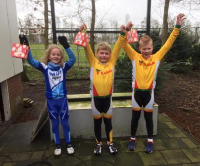 Rijn en Bollenstreekcompetitie 2 - podium cat 3/4 - Duco van der Zwart - Thijmen de Jong