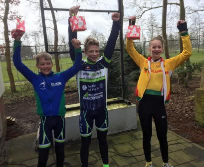 Rijn en Bollenstreekcompetitie 2 - podium cat 5/6 - Roos van den Berg
